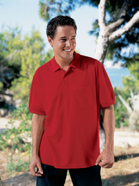 Fruit Of The Loom 65/35 Pocket Pique Polo