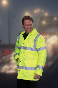 Hi-Visibility Road Safety Jacket - Weatherproof and What a Bargain!