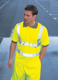 Dickies Hi-Visibility Safety Polo Shirt