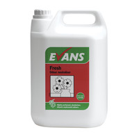Evans Vanodine Fresh - Concentrated Air Freshener & Deodoriser - 5ltr
