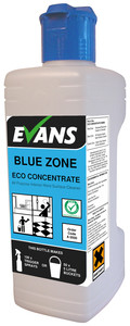 Evans Vanodine Blue Zone Concentrated All-Purpose Internal Hard Surface Cleaner 1ltr