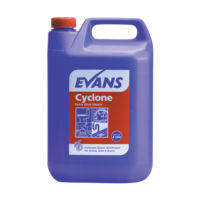 Evans Vanodine Cyclone - Perfumed Thickened Bleach with Detergent - 5ltr