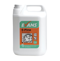Evans Vanodine E-Pine - General Purpose Disinfectant - 5ltr