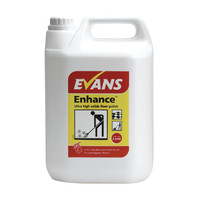 Evans Vanodine Enhance - Metallised Ultra High Solids Wet Look Finish Floor Polish - 5ltr