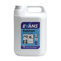Evans Vanodine Rubicon - Oil & Grease Remover & Heavy Duty Cleaner - 5ltr