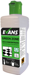 Evans Vanodine Green Zone Concentrated Heavy Duty Cleaner and Floor Maintainer 1ltr