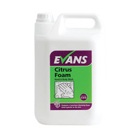Evans Vanodine Citrus Foam - Hand and Body Wash - 5ltr