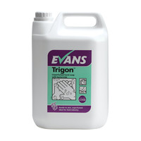 Evans Vanodine Trigon - Non-Tainting Hand Wash & Soap with Bactericide - 5ltr