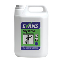 Evans Vanodine Mystrol - Concentrated Lemon Tough All Purpose Cleaner - 5ltr