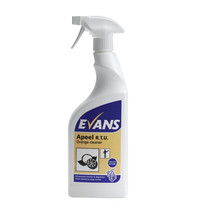 Evans Vanodine Apeel - Citrus Multi Purpose Cleaner & Degreaser - 750ml RTU Trigger Spray