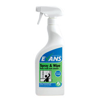 Evans Vanodine Spray and Wipe Cleaner RTU 750ml