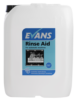 Show more information about Evans Vanodine Rinse Aid Dish - For Automatic Single and Multi Tank Machines - 10ltr drum Promotes Drying and Eliminates Spotting on Crockery and Glassware...