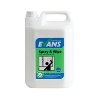 Evans Vanodine Spray and Wipe Cleaner 5ltr
