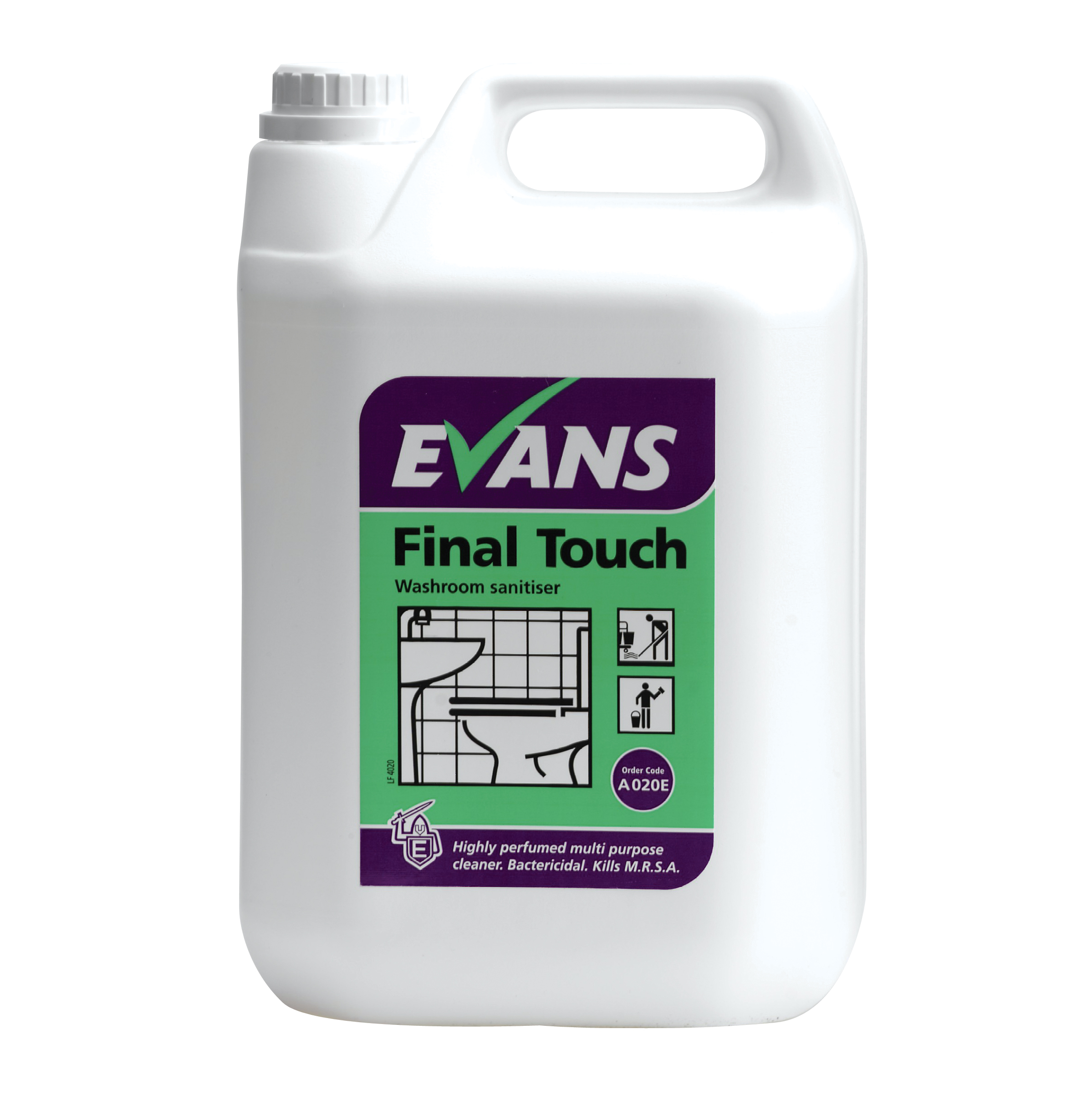 Evans Vanodine Final Touch Bactericidal Neutral Cleaner