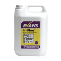 Evans Vanodine Hi-phos - High Active Cleaner & Descaler for Stainless Steel & Porcelain - 5ltr