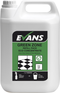 Evans Vanodine Green Zone Concentrated Heavy Duty Cleaner Bulk Refill 5ltr