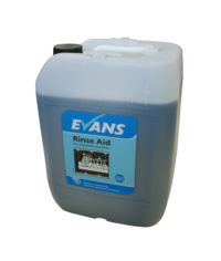 Evans Vanodine Rinse Aid Dish - For Automatic Single and Multi Tank Machines - 20ltr drum