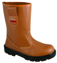 Blackrock Tan Fur Lined Rigger Boot - Available in Sizes 5-13