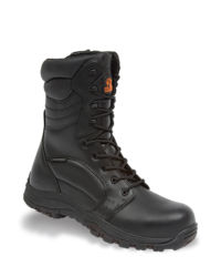 V-Tech Invincible Black High Leg Waterproof Safety Boot - Available In Sizes 6-12