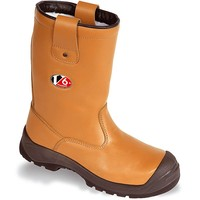 Vtech Polar Rigger S1PCI - V6 - Fur Lined Safety Boot with Tough Scuff Cap & Reinforced Pull Tabs - Tan