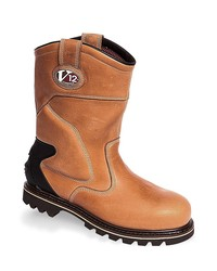 Vtech Roughneck Rigger Boot SPB - Vintage Cow Hide Leather - Thinsulate Lined Safety Footwear
