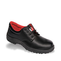 Vtech Beaver Black 4-Eyelet Safety Shoe
