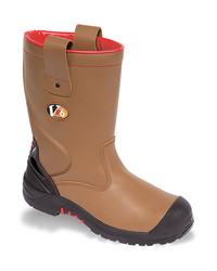 Vtech Grizzly VR6 Tan Fleece Lined Safety Rigger Boot