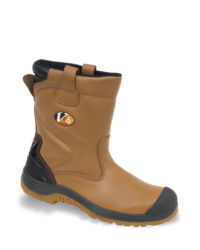 V-Tech Lynx Tan Low Cut Safety Rigger Boot - Available In Sizes 5-13