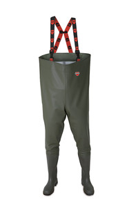 Vital Trent Green Non-Safety Chest Wader - Available In Sizes 7-11