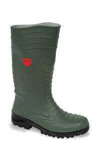 Vital Groundworker Green Safety PVC/ Nitrile Wellington Boot - Available In Sizes 4 - 13