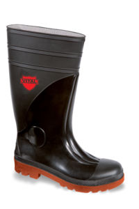 Vital Sitemaster Outsize Black Safety PVC/ Nitrile Safety Wellington Boot - Available In Sizes 14-15