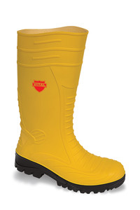 Vital Groundworker Yellow Safety PVC/ Nitrile Wellington Boot - Available In Sizes 6 -12