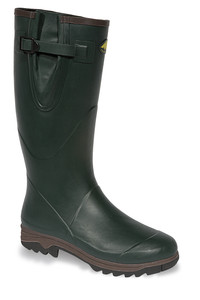 Vital Countryman Marlborough Green Rubber Non-Safety Wellington Boot - Available In Sizes 4-12