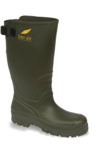 Vital Perfect Lite-Air Green PVC Adjustable Non-Safety Wellington Boot - Available In Sizes 7-12