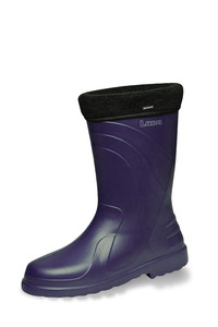 Vital Luna Ocean Blue Lite-Air PVC Lined Non-Safety Wellington Boot - Available In Sizes 3-8