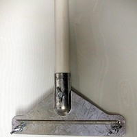 Floor Scraper With Long Metal Handle - 8'' Blade (Replaceable) - Low Cost High Quality Tool!