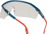 Venitex Kilimandjaro Clear AB Blue and Orange Polycarbonate Safety Glasses