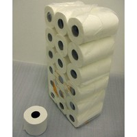 Quality 2 Ply Bathroom Tissue - Jumbo - Pack of 36 Standard White Toilet Rolls - Approx 280 Sheets per Roll