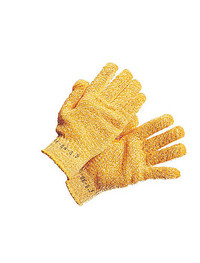 Griptex Yellow Criss Cross Gloves - One size
