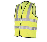 Hi-Visibility Vest - Motorway Safety Waistcoat - BSEN471 Class 2 - Yellow or Orange