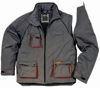 Delta Northwood Jacket - Weather & Wind Resistant - Padded - Detatchable Sleeves - 2 Tone