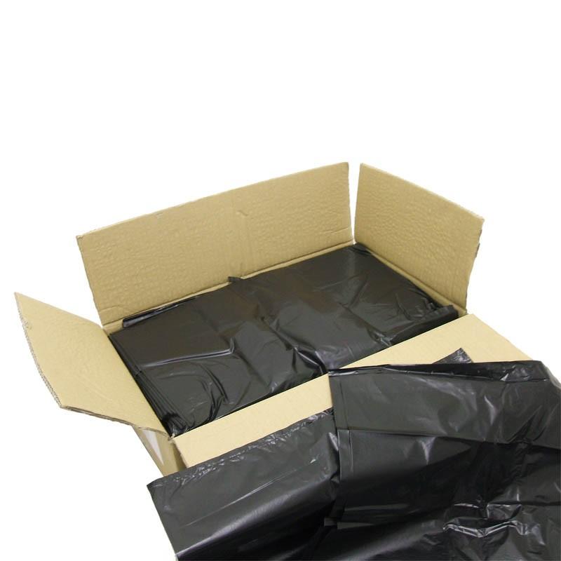 black heavy duty refuse sacks  18 x 29 x 39 u0026 39  u0026 39