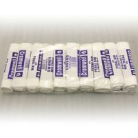 400 Pedal Bin Liners (11 x 18 x 18'') - White - 10 Rolls of 40