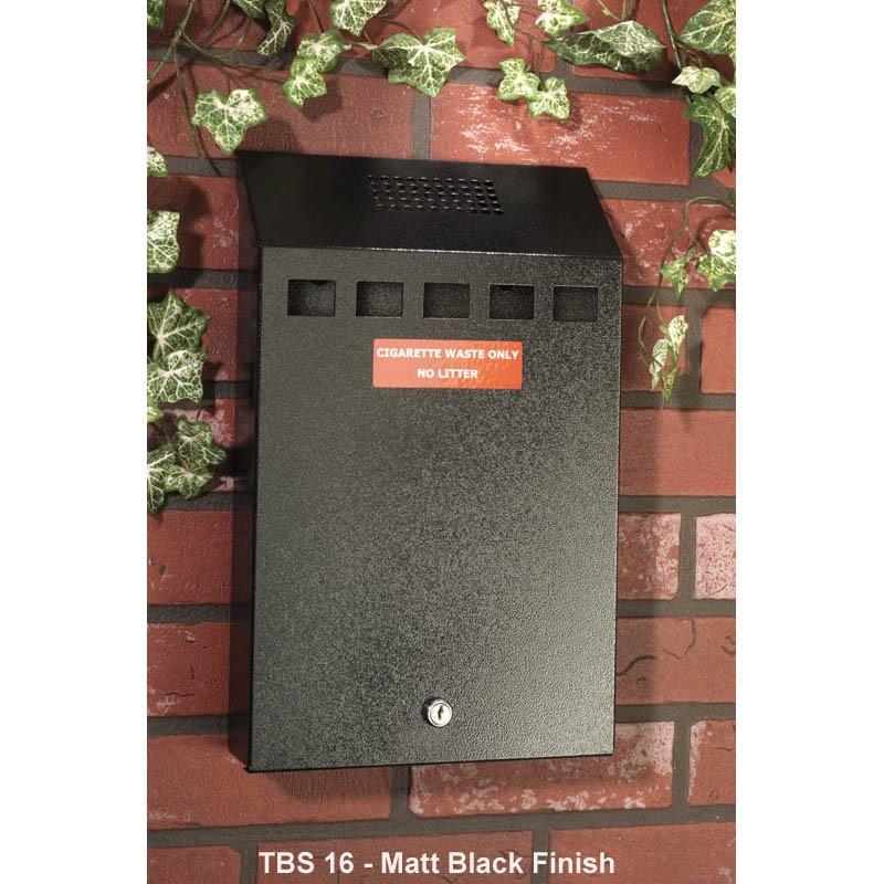 Cigarette Butt Disposal Bin Large Wall Mounted Ashtray