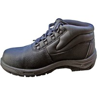Basic Black Safety Boot with Midsole - EN345 S1P