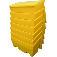 Grit Storage Bin - 12 Cubic Feet - Rock Salt Container - Choice of Colours!