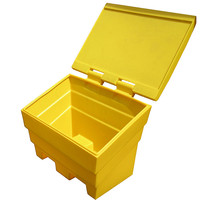 Grit Storage Bin - 6 Cubic Feet - Rock Salt Container - Choice of Colours!