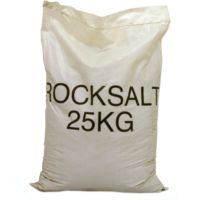 De-Icing Rock Salt - High Purity White Grit BS 3247 - Pallet of 50 x Large Bags