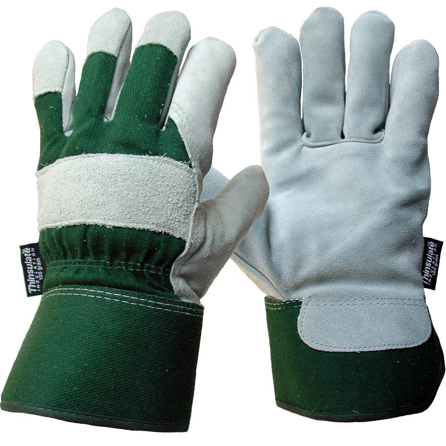 Leather work gloves with thinsulate lining - Leather Work Gloves With Thinsulate Lining 15