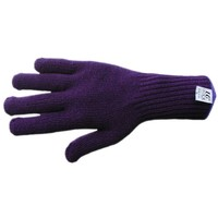 Thermal Knitted Glove - Blue - DuPont Thermolite Yarn - Fast Drying - Large